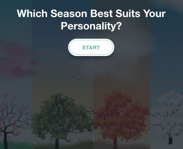 Quiz: Take this fun quiz and let us know what season best suits your personality!