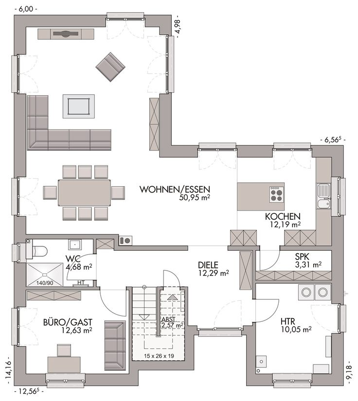 Winkelstadtvilla Als Mehrgenerationenhaus   ECO System HAUS