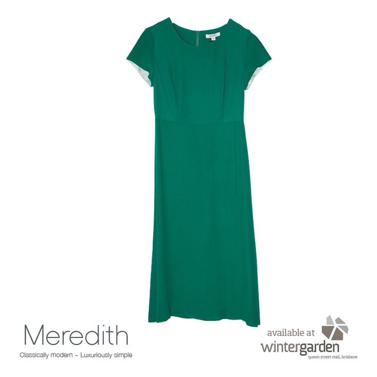 The perfect little green dress for Christmas day!