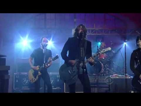 Foo Fighters with Joan Jett - Bad Reputation [Late Show with David Letterman]