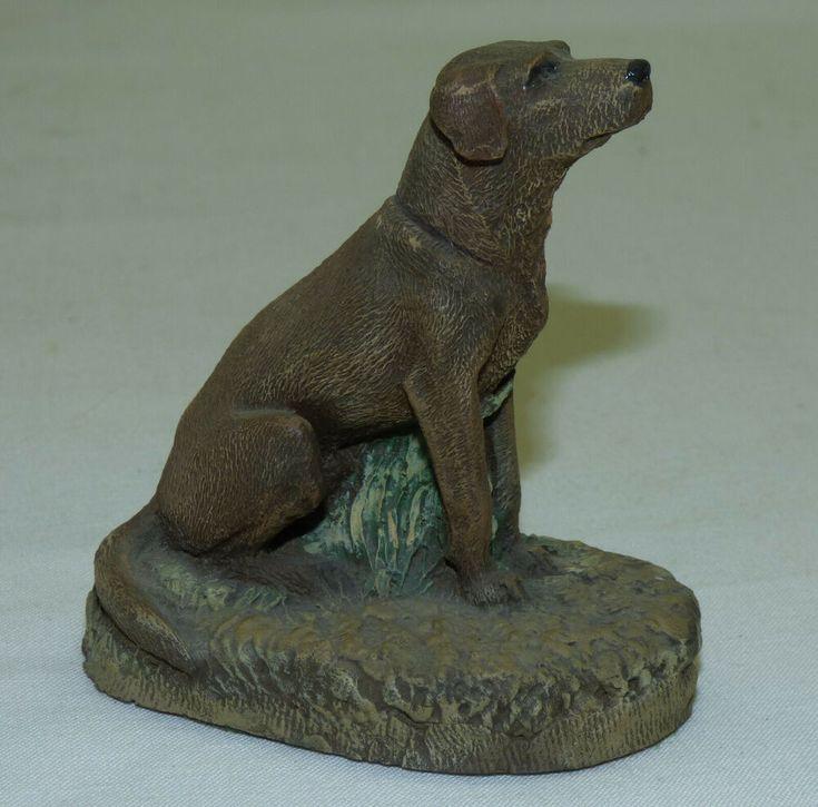 Vintage 1978 Aus Ben Mfg Labrador Dog Figurine Boone NC by