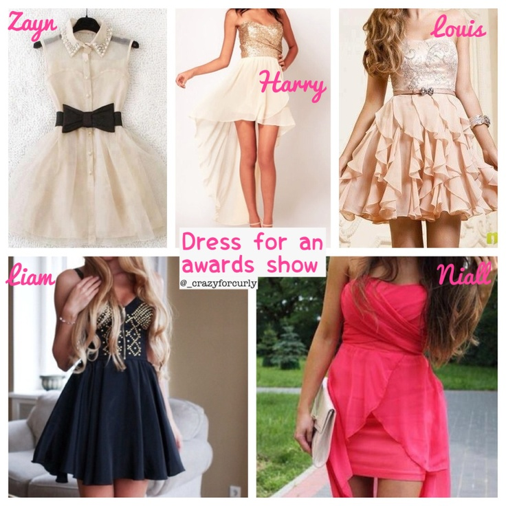 Dress for an awards show