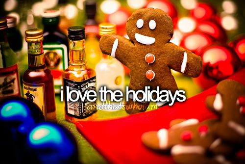 Christmas and Thanksgiving are my favorite. Presents and food. How can it get any better than that? :)