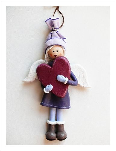 salt dough angel - Google Search