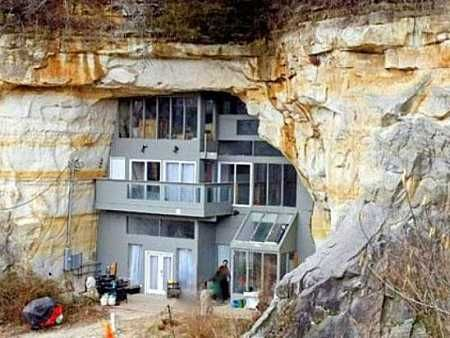 cave house, festus, missouri, ⇲ more on underground houses http