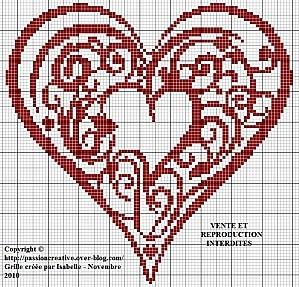 Coeur rouge free