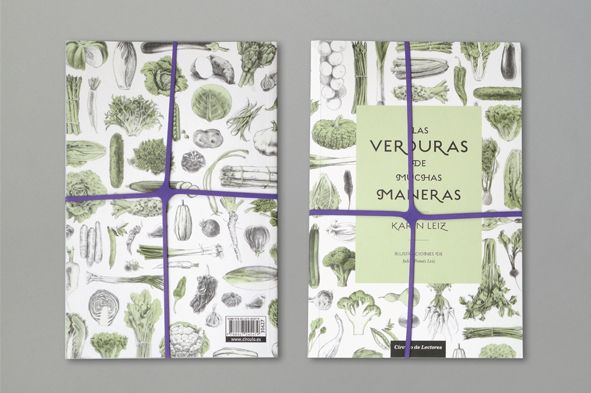 Editorial — Las verduras de muchas maneras [Vegetables Recipes Book]