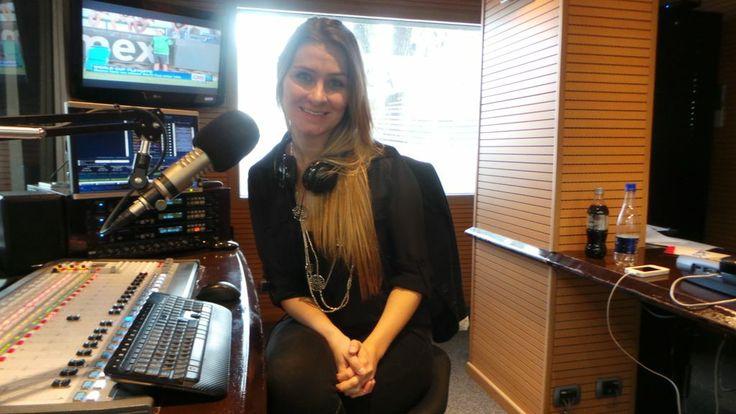 Nuestra linda @Paulina Laponte en #OnTheRadio.