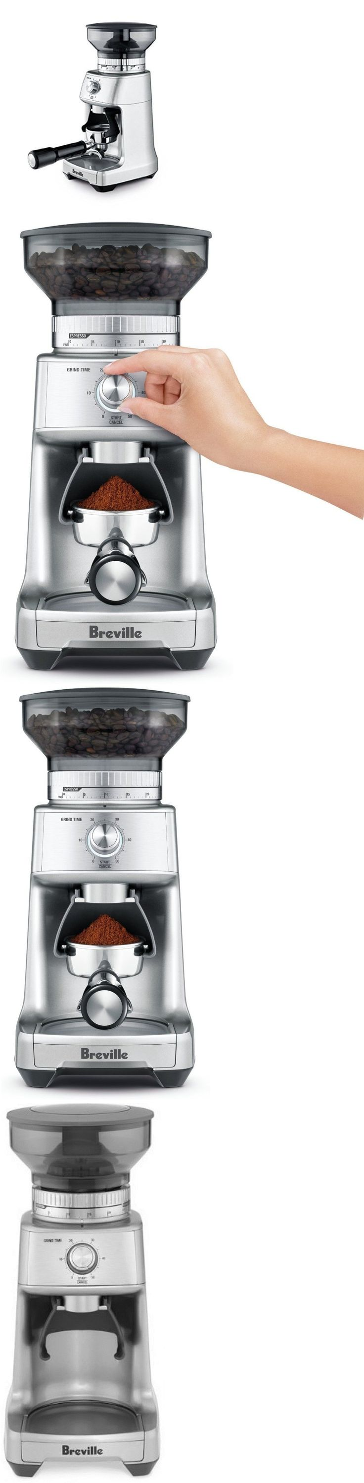 Coffee Grinders 32882: Coffee Makers With Grinders Breville Professional  Espresso Machine French Press >