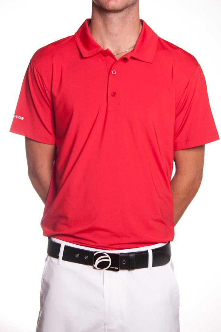beef4f90 #Gents you need to #CheckOut this Fayde Golf #Men's #Rich #Red Colour #Golf  #Polo #Shirt. Look and Feel like a Golf Professional with these well  designed ...