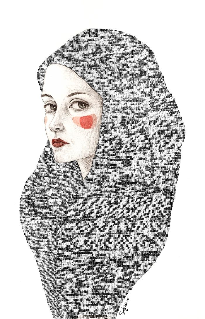 Zanna Art Print by Sofia Bonati