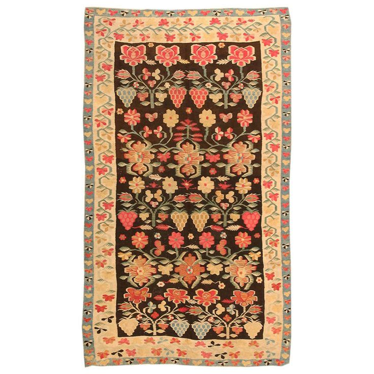 Bessarabian Rug | See more antique and modern Western European Rugs at https://www.1stdibs.com/furniture/rugs-carpets/western-european-rugs