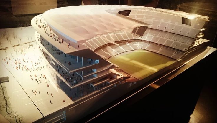 "The ""Nou"" Camp Nou. A £465m redevelopment that will be undertaken without disrupting FC Barcelona fixtures. Increases capacity to 105,000. Worth watching the construction phasing video too https://youtu.be/hfsxpnLXSxg #fcbarcelona #stadiums"
