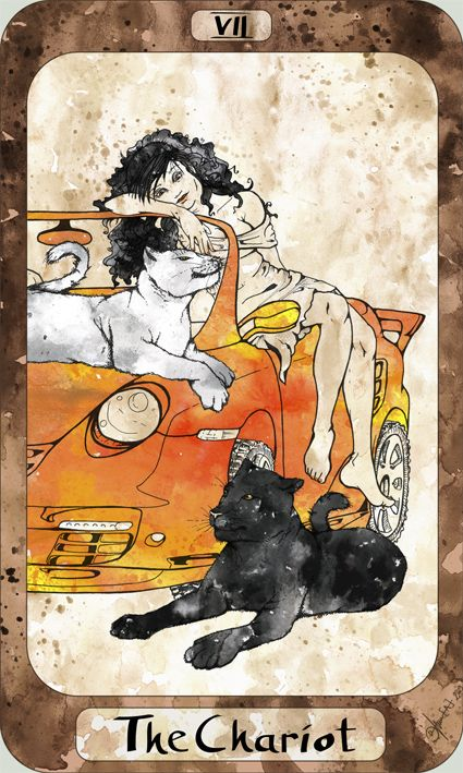 95 Best Images About The Chariot (Tarot Card) On Pinterest