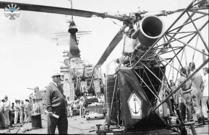 Indonesian navy's KRI Irian, 1969. (defence.pk/pr1v4t33r)