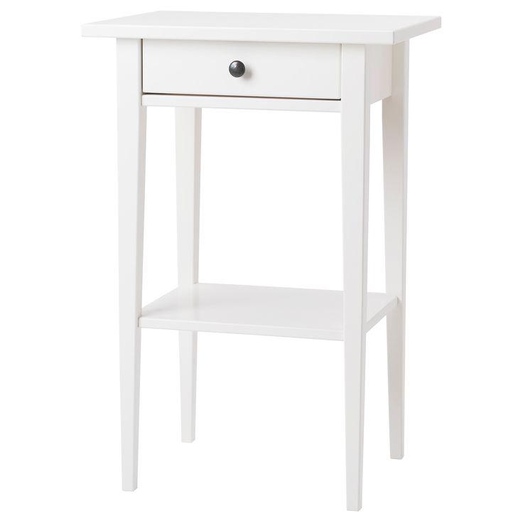 HEMNES Nightstand - white - IKEA Zoe's room