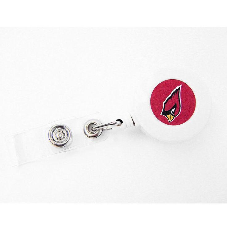 Aminco NFL Arizona Cardinals Retractable Badge Reel ID Ticket Clip