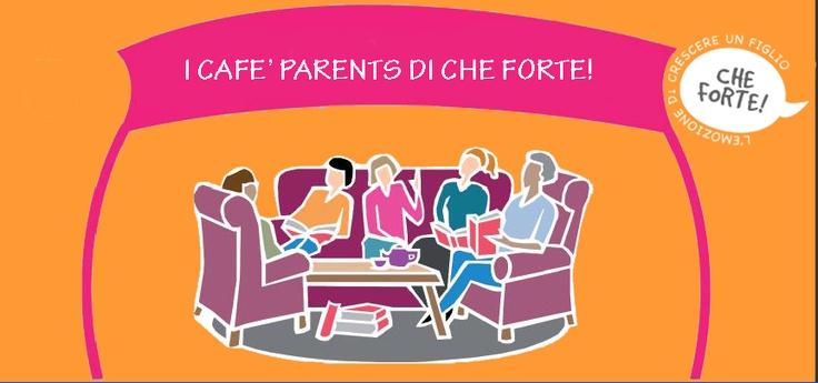 """""""I Café Parents di Che Forte!"""", ovvero chiacchiere informali tra genitori davanti a una tazza di caffè e cookies in un accogliente salotto in una zona centrale della città; il tutto con la presenza discreta di professionisti, che incoraggiano e favoriscono lo scambio di esperienze, stimolano domande e riflessioni, danno preziosi consigli e rassicurano.   Consulta l'agenda http://www.cheforte.it/crescita-ed-educazione/ti-aspettiamo-ai-cafe-parents-di-che-forte.html"""