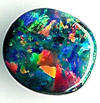 Natural Black Opal Red Multicolor GEM 1.94cts SALE PRICE $4,000.00