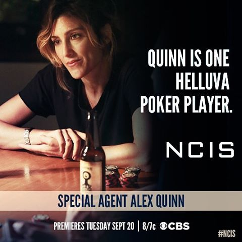 Get to know...#NCIS Special Agent Alex Quinn. @jenniferesposito.jwaybakery makes her NCIS debut 9/20 8 pm.