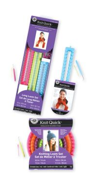 Loops & Threads™ Knit Quick™ Round Looms #MichaelsStores: Loomknit, Christmas List, Knitting Loom, Loom Knit