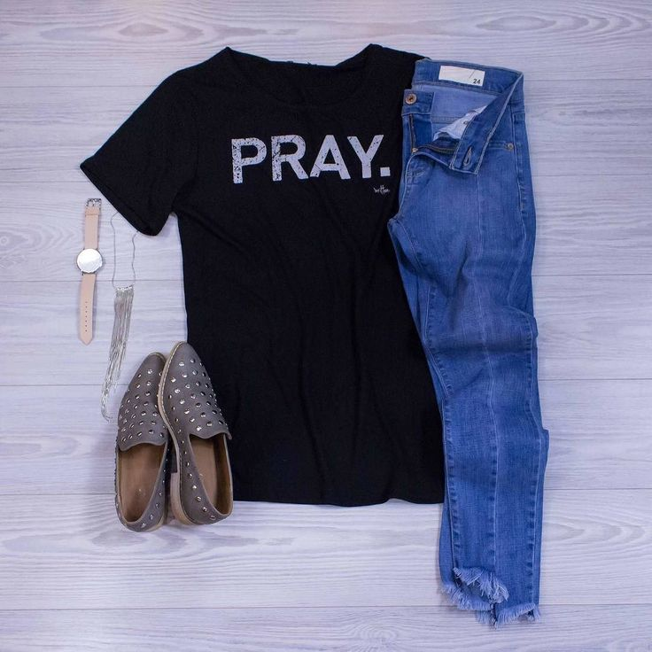 Pray.  Shop our comfy and cute Written tees in-store or online! www.shopelysian.com @shopwritten Pray. Black Raw Neck Tee Shirt $34. online  in-store. @cluse La Boheme Watch $96. in-store only. Sadie Button Studded Loafer $72. online  in-store. Seamed Skinny Jean $76. in-store only. #WearElysianDaily http://ift.tt/2uqvKp2 Pray.  Shop our comfy and cute Written tees in-store or online! www.shopelysian.com @shopwritten Pray. Black Raw Neck Tee Shirt $34. online  in-store. @cluse La Boheme…