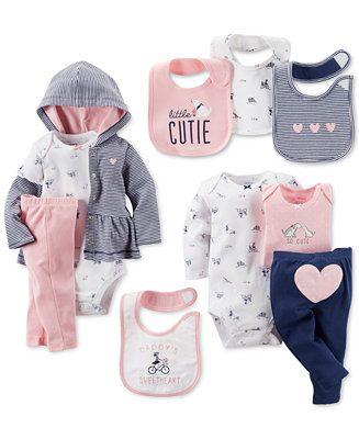ღ¸.•❤ ƁҽႦҽ ღ .¸¸.•*¨*• Carter's Baby Girls' Clothing Sets & Bibs - Newborn Shop - Kids & Baby - Macy's