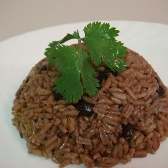 Dominican Moro De Habichuelas Negras  ( Rice And Beans) Recipe sides, dairy free, gluten free, nut free, sugar free, caribbean with 13 ingredients