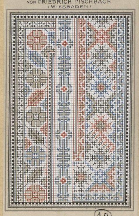 Gallery.ru / Фото #87 - старинные ковры и схемы для вышивки - SvetlanN