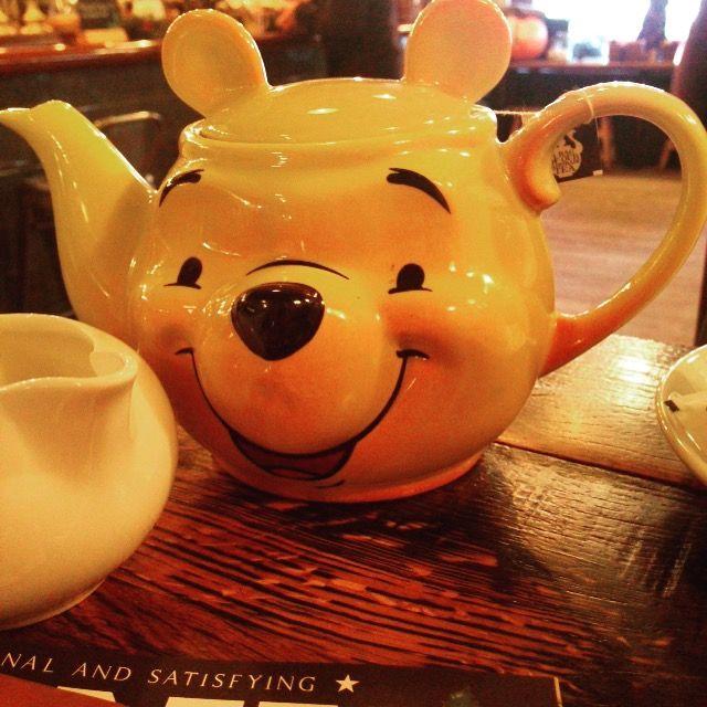 Pooh tea pot