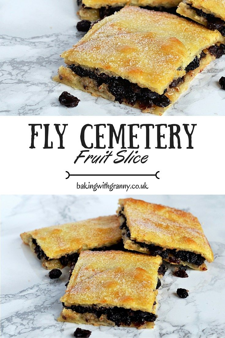 Fruit Slice (Fly Cemetery) - Baking with Granny