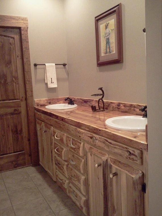 Rustic Vanity Cabinet Plans Woodworking Projects Amp Plans
