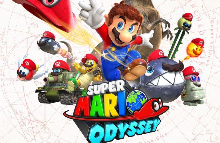 38402496 Super Mario Odyssey 4k Best Image Super Mario Mario City Super