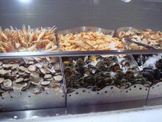 sea food buffet las vegas