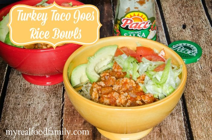 These taco bowls are easy to make and perfect for a quick weeknight meal.