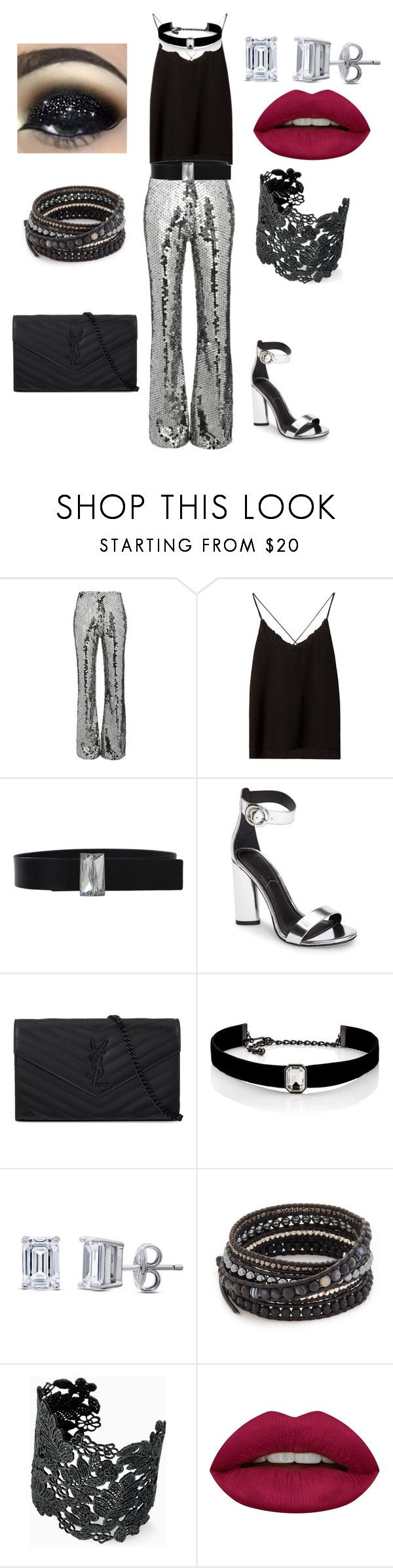 """U2, Joshua Tree, Box Seats"" by merylandry ❤ liked on Polyvore featuring Filles à papa, Massimo Dutti, Lanvin, Kendall + Kylie, Yves Saint Laurent, Kenneth Jay Lane, BERRICLE, Chan Luu, Stella & Dot and Huda Beauty"