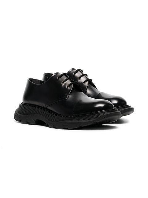 1276d34d508d6 Alexander McQueen Chunky Derby Shoes in 2019 | Sneakers | Shoes, Derby  shoes, Dress shoes