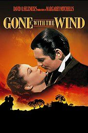 Gone with the Wind by Margaret Mitchell. Saga of the early South.