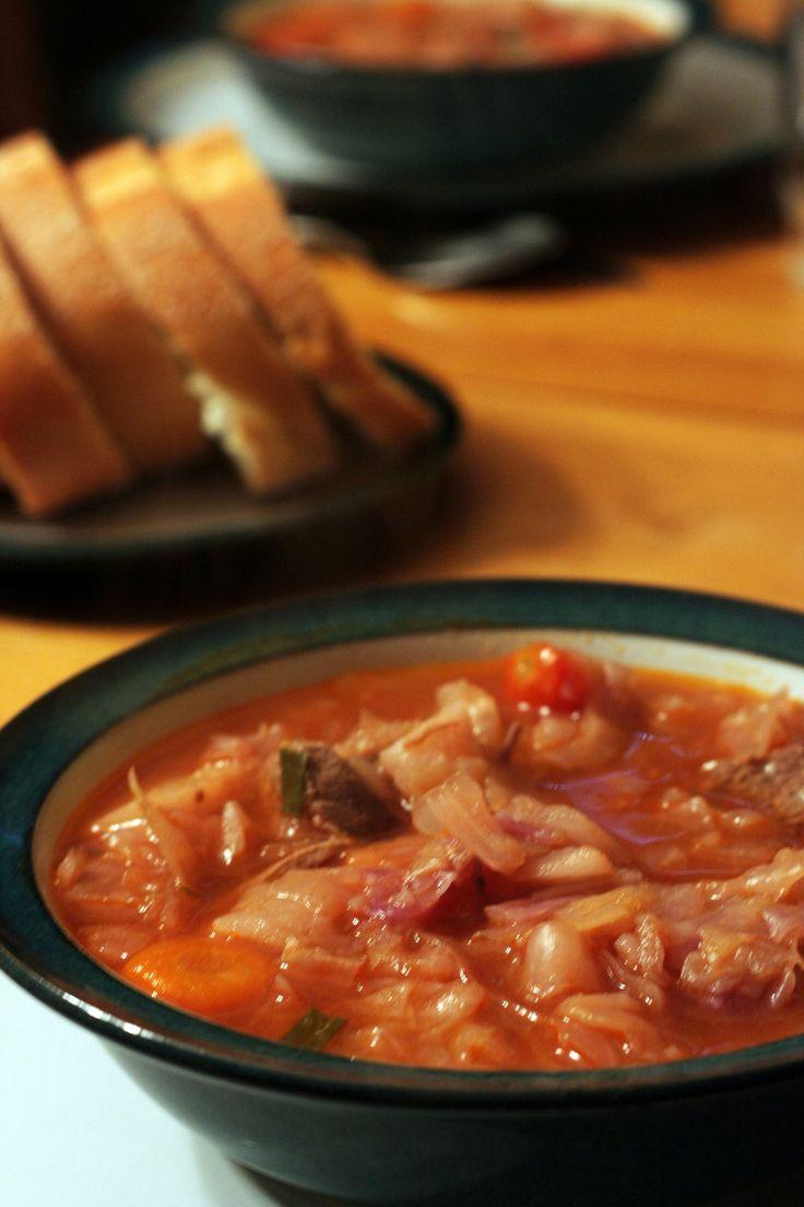 Cabbage Borscht Mennonite Soup Recipe