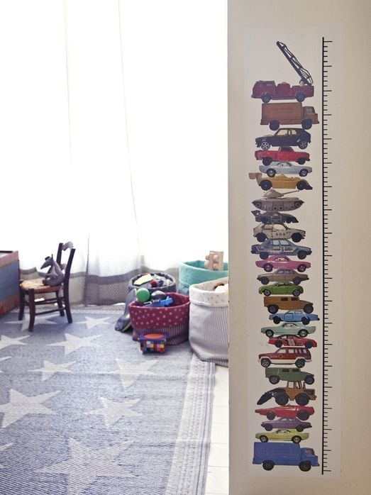 Kids | Cars | Height Chart