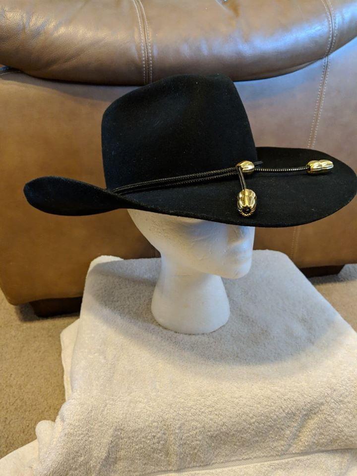 214632d4f Calvary Western Cowboy Hat MHT Master Hatters of Texas sz 7 1/4 ...