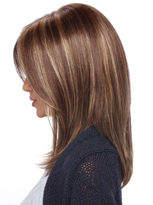 Estetica Jewel Wig : Profile View | Color CARAMELKISS