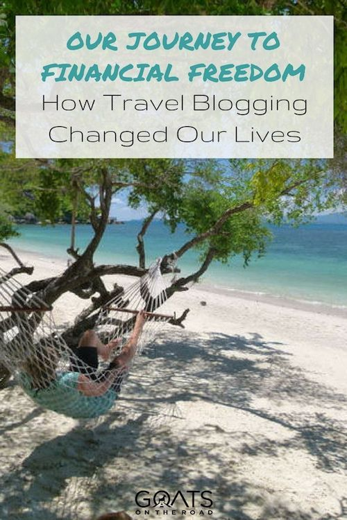 Sick of working 9-to-5? Dying to escape your mundane routine? Dreaming of getting out & seeing the world? Read our story of how building our travel blog has brought us happiness & financial freedom | #digitalnomad #travelblogger #financialfreedom #rockyourfinances #freelancer #workonline #traveltheworld #behappy #finditliveit #bloggerlifestyle