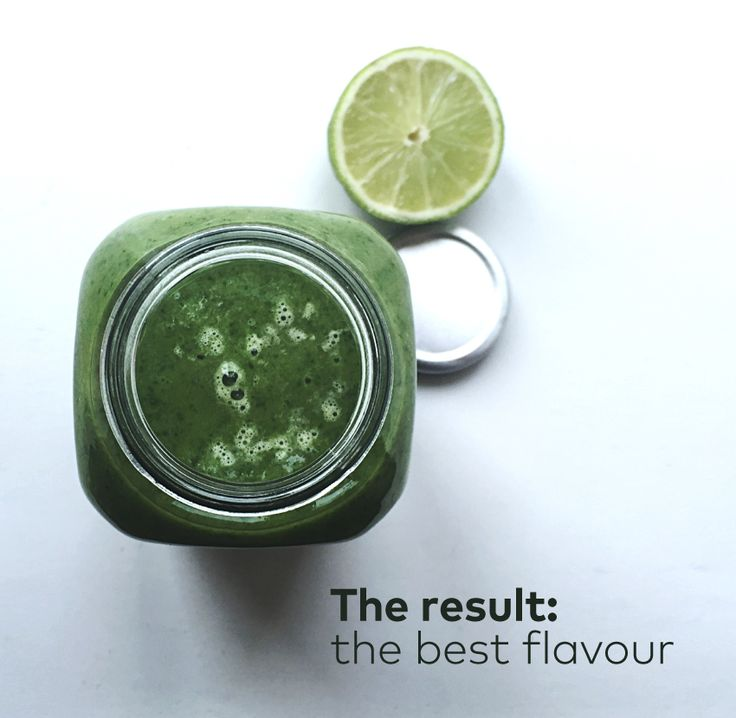 #April. The result: the best flavour