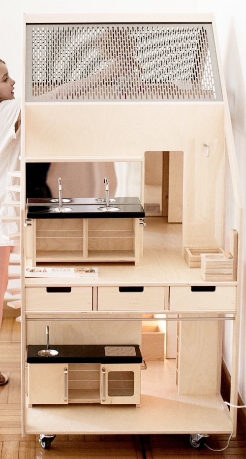 1000 images about modern dollhouses on pinterest for Big modern dollhouse