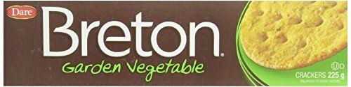 Breton Cracker Garden Vegetable 225g, 12-count