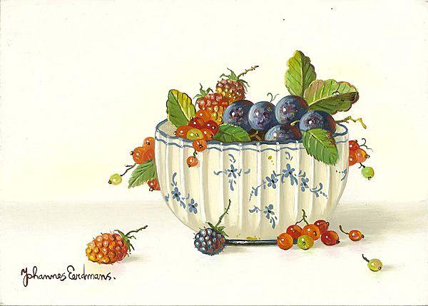 Картинки ягоды и фрукты декупаж прованс, надписями