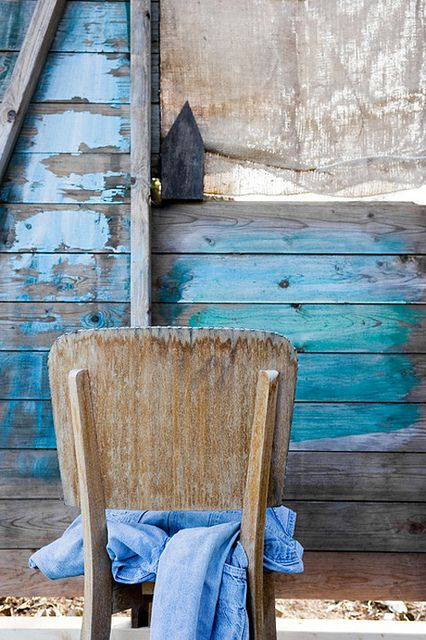 shades of blue by the style files, via Flickr. Great for the playhouse!