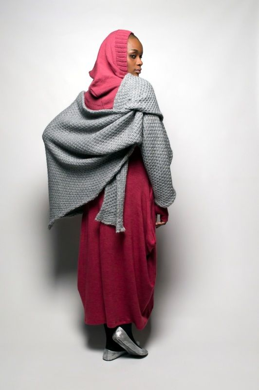 SIES!isabelle winter 2014 Heleni dress with alpaca wrap