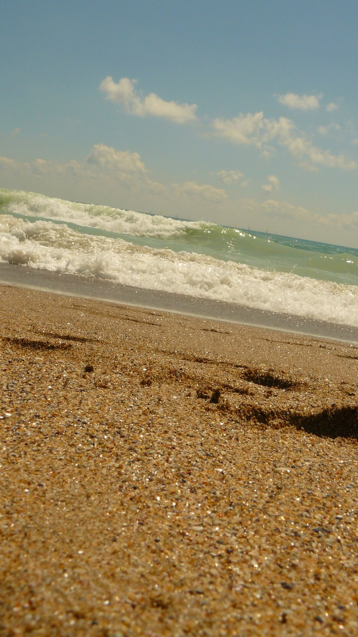 By the sea side by.....by the beautiful sea